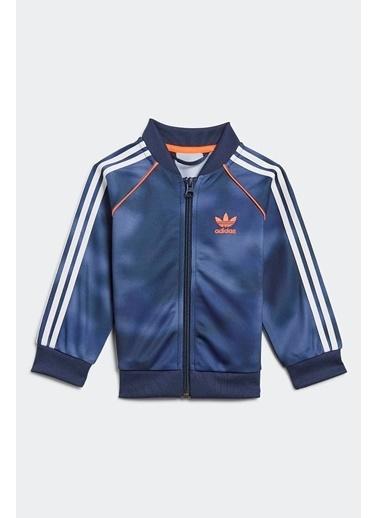 adidas Adidas Erkek Bebek Günlük Eşofman Takım Sst Set Gn4112 Mavi